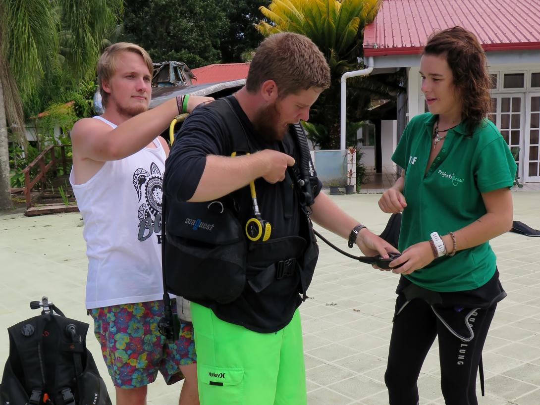 Fiji - Scuba dive course